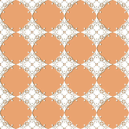 vector seamless vintage lacy  pattern Vector