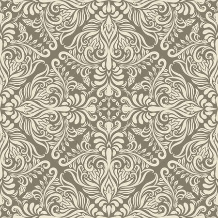 arabesque antique:  seamless vintage pattern