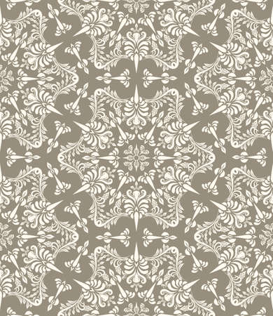 vector vintage seamless pattern Illusztráció