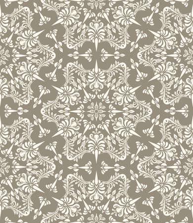 vector vintage seamless pattern Çizim