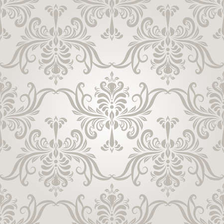 arabesque: vector seamless vintage wallpaper pattern on gradient background