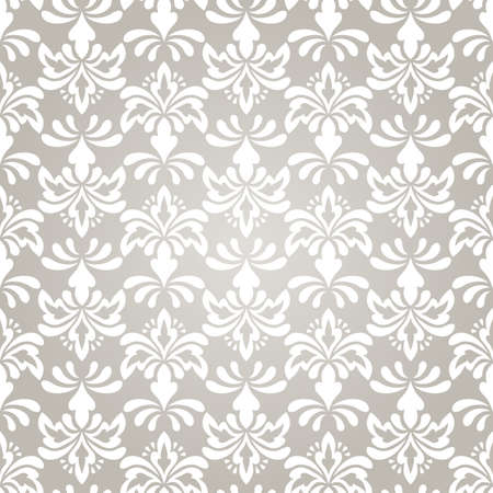 arabesque pattern: vector seamless vintage wallpaper pattern on gradient background
