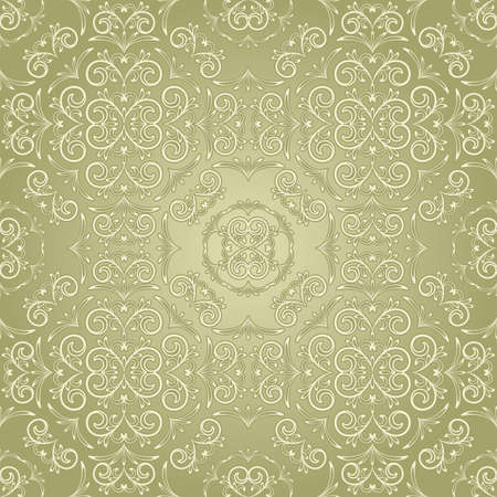 vector vintage seamless floral pattern, can be used as textile, fabric or wrapping paper Vector