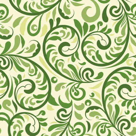 damask pattern: Vector Floral Seamless Pattern