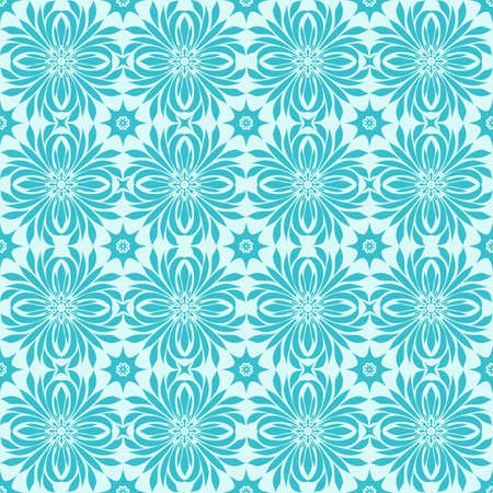 vector seamless winter pattern with snowflakes,  fully editable eps 8 file, seamless pattern in swatch menu Vector
