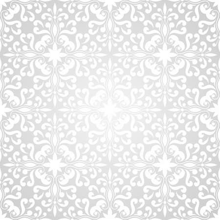 vector seamless floral wallpaper pattern on gradient background Stock Vector - 18017032
