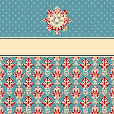 vector seamless floral wallpaper pattern on gradient background, fully editable eps 8 file,seamless patterns in swatch menu Stock Vector - 18145713