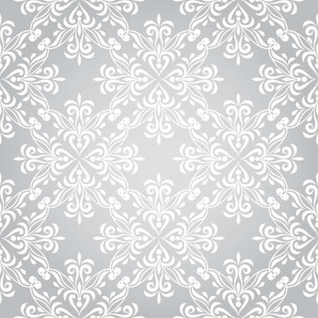 Vector seamless winter pattern with snowflakes Vector
