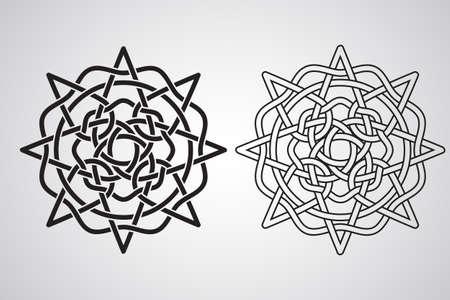 Celtic Design Pattern Vector