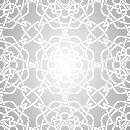 knot work: Celtic Lacy, Nudo Seamless Pattern Vectores