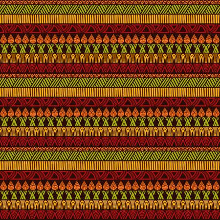 Seamless Ethnic Pattern Vektorové ilustrace