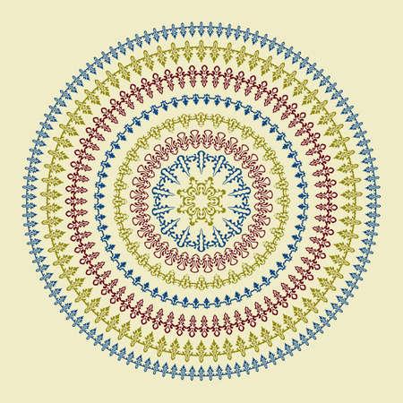 boho: Vector Circle Pattern