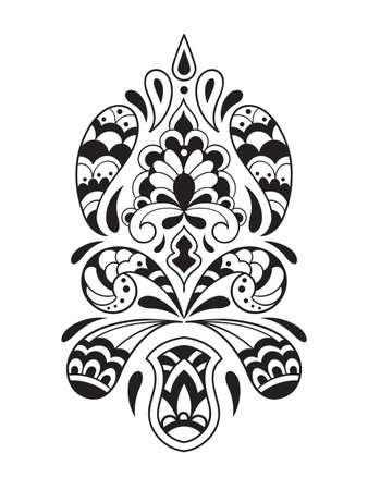 persian art: Vector   Paisley Pattern