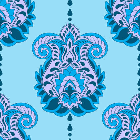 arabesque: Vector Seamless Paisley Pattern