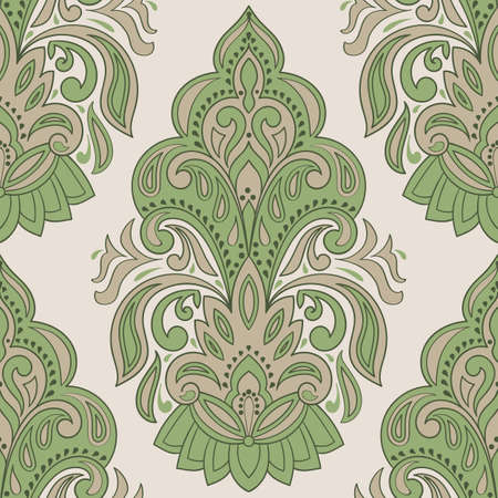 beautiful background: Vector Seamless Paisley Pattern