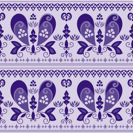 african americans: seamless paisley pattern