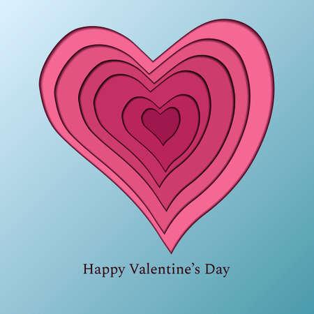 Valentine's day postcard instasize papercat