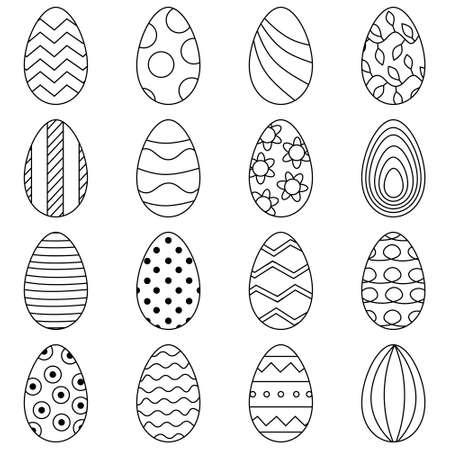 16 eggs for Easter banner