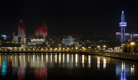 Night Baku photo