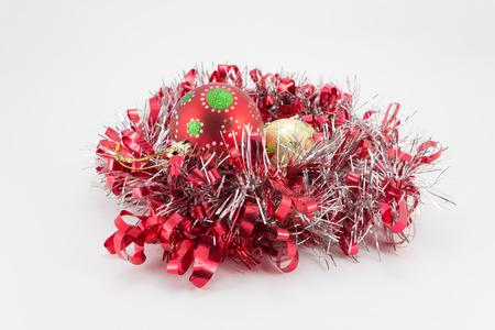adornos navidad: Adornos navide�os Foto de archivo