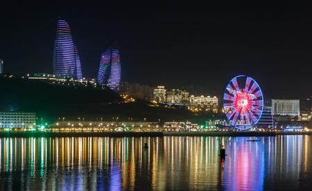 baku: panorama Baku