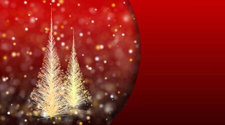 tranquil scene on urban scene: Christmas background