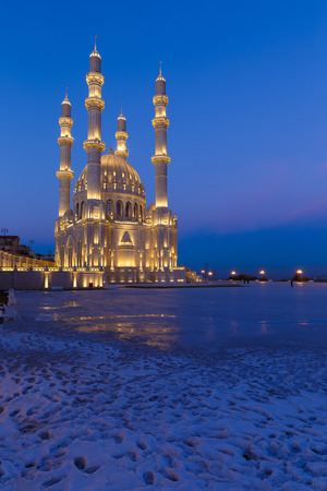 New mosque in Baku photo
