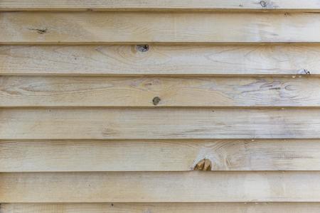 wooden partition: Wooden partition between balconies