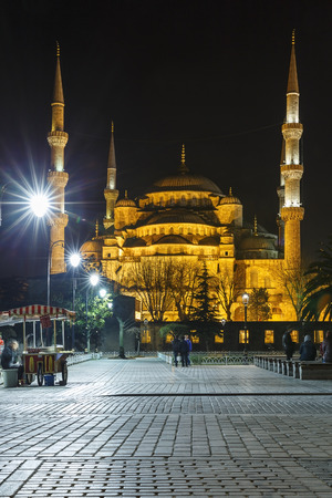 sultan: Sultan Ahmed Mosque in Istanbul