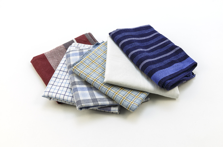 handkerchiefs: handkerchiefs for men on a white background,