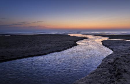 caspian: Sunrise on the coast of the Caspian Sea