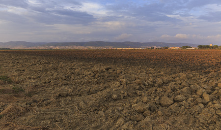 cultivated land: Of cultivated land on the margins of Bulgaria