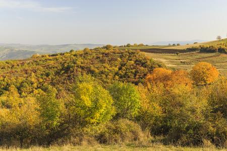 mid distance: Spring on Ahsu Pass.Azerbaijan