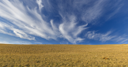 cirrus: Cirrus clouds in the mountains Khizi.Azerbaiajan