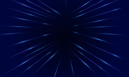 luminous: Technology a background of luminous lines. Illustration