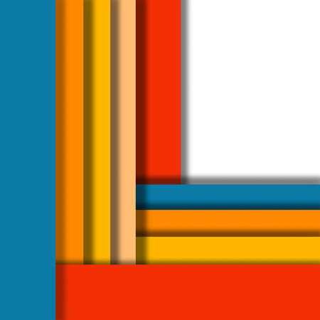 color design: Abstract background is imitating the color palette. design materials