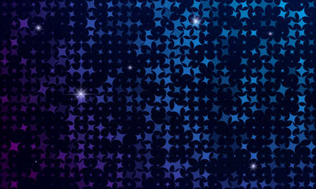 squares background: Abstract background is from a multi-colored squares and stars.Vector