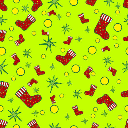 repeating: Seamless repeating pattern Christmas.Vector Illustration