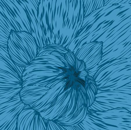 unopened: Abstract pattern unopened flower.Vector