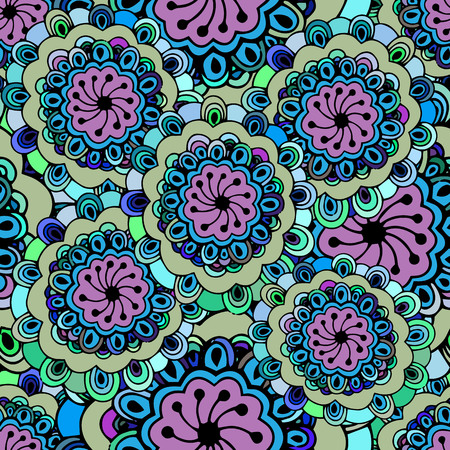 textiles: Seamless repeating abstract pattern.Vector Illustration