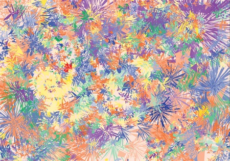 Abstract background imitating spray from paints