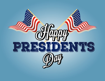 President's day background Vector illustration.