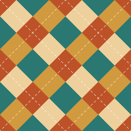 Seamless repeating background of squares and dashed lines