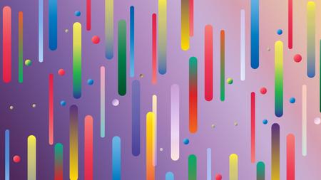 Abstrakter Hintergrund von Farbverlaufsstreifen und -kreisen