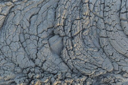 Texture of fresh mud spewing from mud volcano