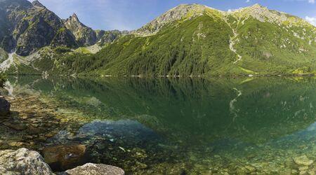 Sea Eye. Lake in Tatra Mountains