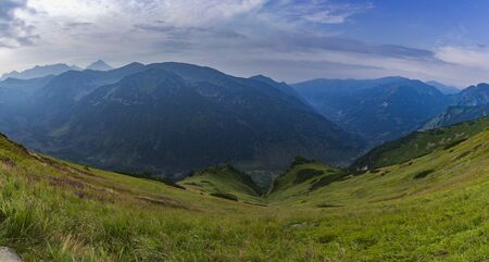 Panorama of Tatra Mountains from Poland 写真素材