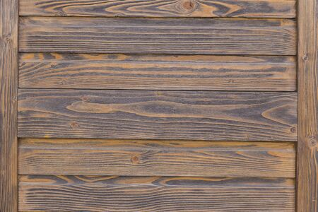 The texture of the wooden boards of the store