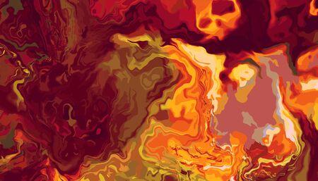 Abstract meditative color fractal background Standard-Bild - 149380194