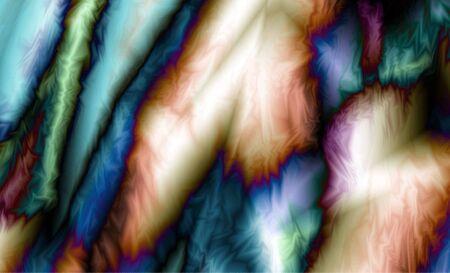 Abstract meditative color fractal background Standard-Bild - 150135916
